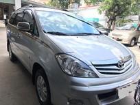 Bán Toyota Innova G đời 2010, màu bạc, số sàn, 590tr