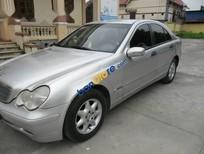 Tôi cần bán Mercedes C180 đời 2003, màu bạc số tự động