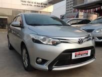 Bán Toyota Vios G đời 2014, màu bạc, số tự động