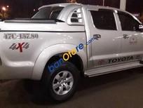 Bán Toyota Hilux 3.0 đời 2011, màu bạc xe gia đình, giá tốt
