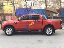Bán Ford Ranger Wildtrak đời 2014, màu cam, số tự động