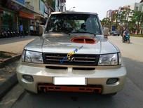 Cần bán xe Hyundai Galloper 2 chỗ tự động đời 2003, màu vàng, nhập khẩu Hàn Quốc