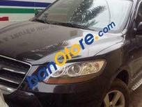 Bán Hyundai Santa Fe AT đời 2009, màu đen số tự động