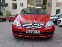 Bán Mercedes A170 năm 2009, màu đỏ, xe nhập