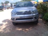 Bán xe Toyota Fortuner G 2011, màu bạc, máy dầu, số sàn