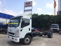 Bán xe FAW xe tải thùng 7T25 năm sản xuất 2017, màu xanh lam, nhập khẩu, giá tốt