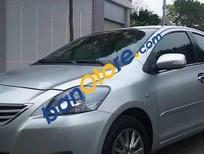 Bán xe gia đình Toyota Vios E đời 2012, màu bạc