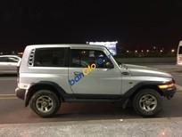Bán xe Ssangyong Korando TX5 đời 2004, màu trắng, nhập khẩu chính hãng, 198tr