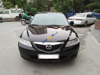 Bán Mazda 6 MT năm 2003, màu đen, nhập khẩu