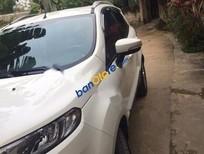 Bán xe cũ Ford EcoSport AT đời 2015, màu trắng như mới, giá 555tr