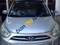 Bán Hyundai i10 MT đời 2013, màu bạc, giá tốt