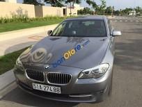 Cần bán gấp BMW 528i đời 2011, màu xám, xe được bảo dưỡng định kỳ chính hãng