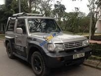 Bán Hyundai Galloper sản xuất năm 2003, màu xám, xe nhập