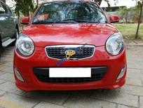 Cần bán lại xe Kia Morning SX sản xuất 2012, màu đỏ số tự động