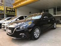 Cần bán Mazda 3 AT sản xuất 2016, màu đen số tự động giá rẻ