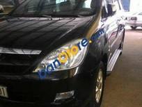Cần bán gấp Toyota Innova MT sản xuất 2006, màu đen chính chủ, giá 396tr