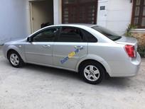 Bán Chevrolet Lacetti năm sản xuất 2013, màu bạc xe gia đình