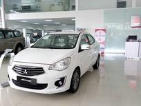 Cần bán Mitsubishi Attrage mới 2017, màu trắng, nhập khẩu,rẻ nhất Quảng Nam Đà Nẵng