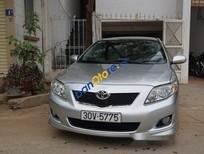 Cần bán xe Toyota Corolla Altis đời 2009, màu bạc số tự động, giá chỉ 569 triệu