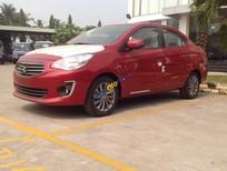 Bán xe Mitsubishi Attrage sản xuất năm 2016, màu đỏ, nhập khẩu nguyên chiếc, giá 543tr