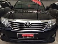Cần bán xe Toyota Fortuner 2.7v 2013, màu đen, giá 820tr