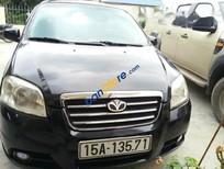 Cần bán xe cũ Daewoo Gentra sản xuất 2009, màu đen