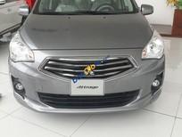 Cần bán xe Mitsubishi Attrage CVT sản xuất 2016, màu xám, nhập khẩu nguyên chiếc