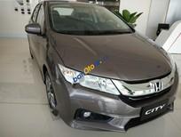 Bán Honda City CVT sản xuất 2017, màu nâu, giá tốt
