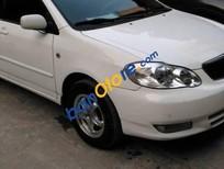 Bán Toyota Corolla altis 1.8G đời 2002, màu trắng