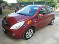 Bán xe Hyundai i20 AT sản xuất 2011, màu đỏ số tự động