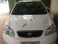 Bán ô tô Toyota Corolla Altis MT sản xuất 2002, màu trắng