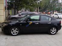 Bán Mazda 3 AT đời 2005 (lăn bánh năm 2007), màu đen, số tự động