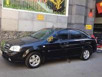 Cần bán Chevrolet Lacetti sản xuất năm 2012, màu đen chính chủ