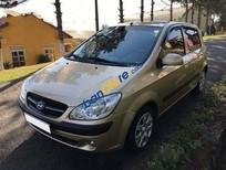Bán Hyundai Getz MT đời 2010, màu vàng