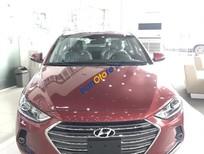 Cần bán Hyundai Elantra GLS năm sản xuất 2017, màu đỏ, giá tốt