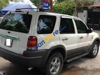 Cần bán xe Ford Escape AT sản xuất 2001, màu trắng số tự động