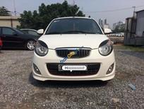 Cần bán xe Kia Morning SLX sản xuất năm 2009, màu trắng, nhập khẩu nguyên chiếc số tự động, giá chỉ 308 triệu