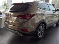 Bán xe Hyundai Santa Fe 2017, khuyến mại 100tr đồng 0961637288