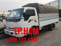 TP. HCM Thaco Kia K165S 2017, màu vàng, thùng kín inox 304 mở cửa hông