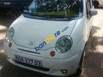 Cần bán xe cũ Daewoo Matiz MT đời 2004, màu trắng