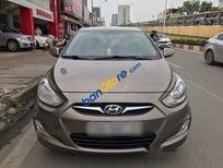 Hyundai Accent 2012 1.4 AT, màu ghi vàng, tên cá nhân công chức dùng