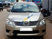 Bán xe Toyota Innova E 2.0MT đời 2013, màu vàng số sàn