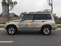 Bán xe Suzuki Vitara số sàn 2 cầu, 2005, màu vàng cát
