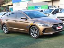 Cần bán xe Hyundai Elantra GLS 2.0AT sản xuất năm 2016, màu nâu