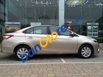 Bán xe Toyota Vios 1.5E MT sản xuất năm 2017, màu vàng