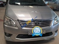 Cần bán xe cũ Toyota Innova G 2013, màu bạc