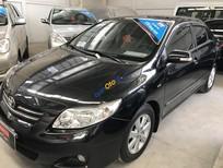 Cần bán Toyota Corolla Altis 1.8AT đời 2009, màu đen, số tự động