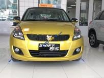 Bán Suzuki Swift 1.4AT đời 2017, màu vàng, giá tốt