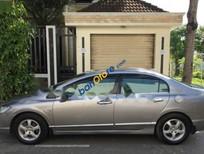 Cần bán gấp Honda Civic AT đời 2008, màu xám xe gia đình