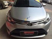 Bán Toyota Vios 1.5G năm sản xuất 2015, màu bạc số tự động giá cạnh tranh